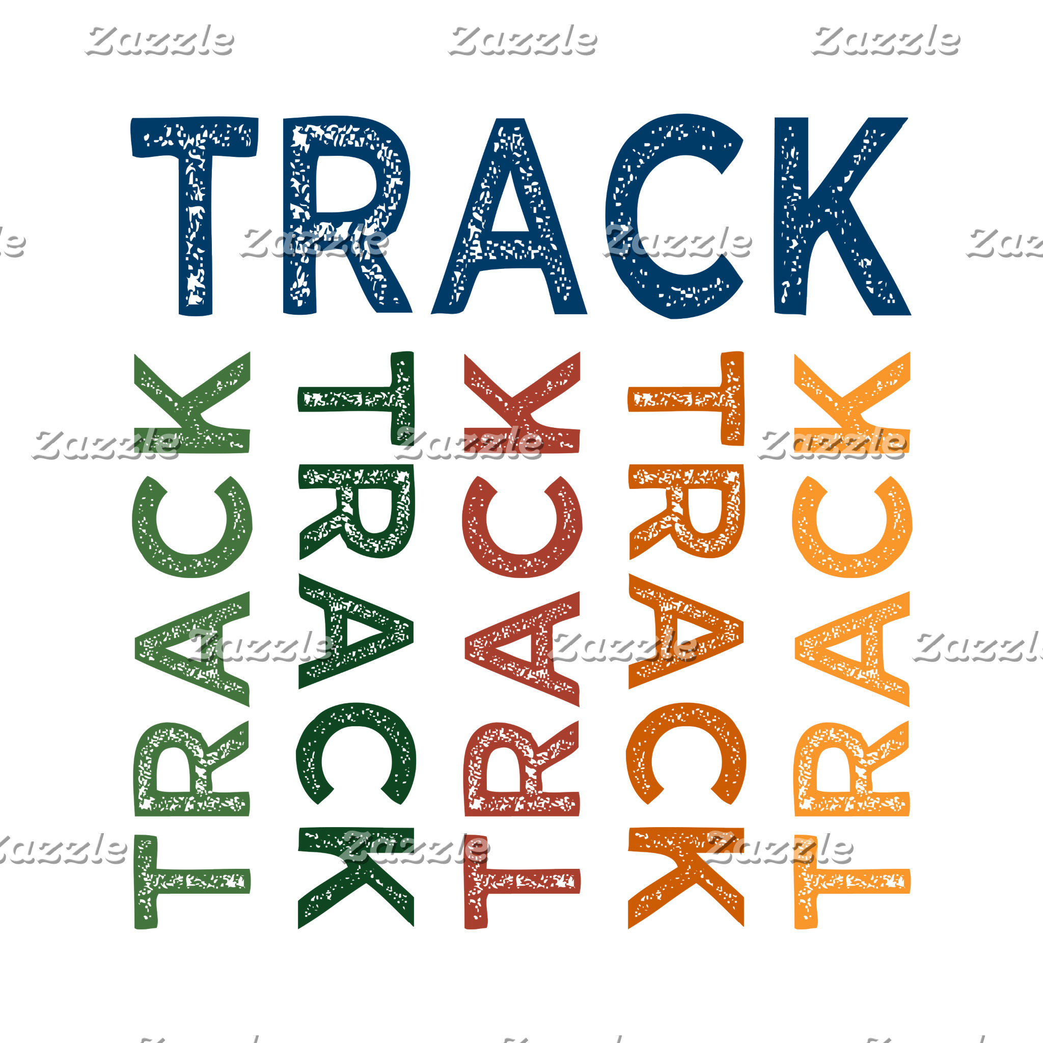 Track Cute Colorful