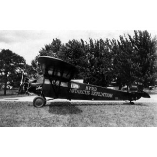Byrd Antarctic Expedition Airplane Photograph