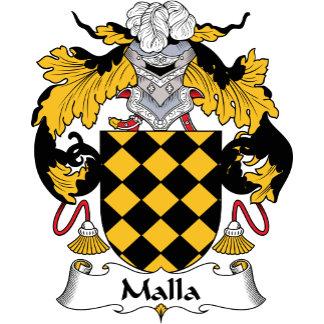Malla Family Crest