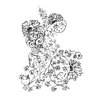 Abstract Flower Dance