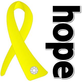Suicide Prevention Hope Ribbon