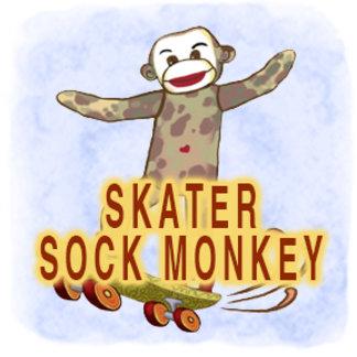Skater Sock Monkey