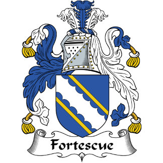 Fortescue Family Crest / Coat of Arms