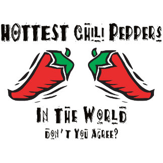 Hottest Chili Peppers In The World T-Shirts Gift