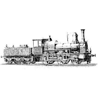 Locomotive ~ Vintage Steam Railroad Train ~ 2