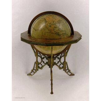 Andrews Eight Inch Terrestrial Globe