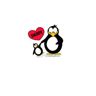 I Heart Daddy Penguin