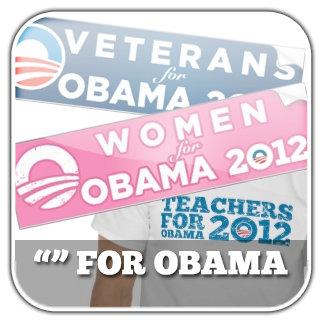 [Blank] For Obama