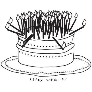 Birthdays - age-related humor