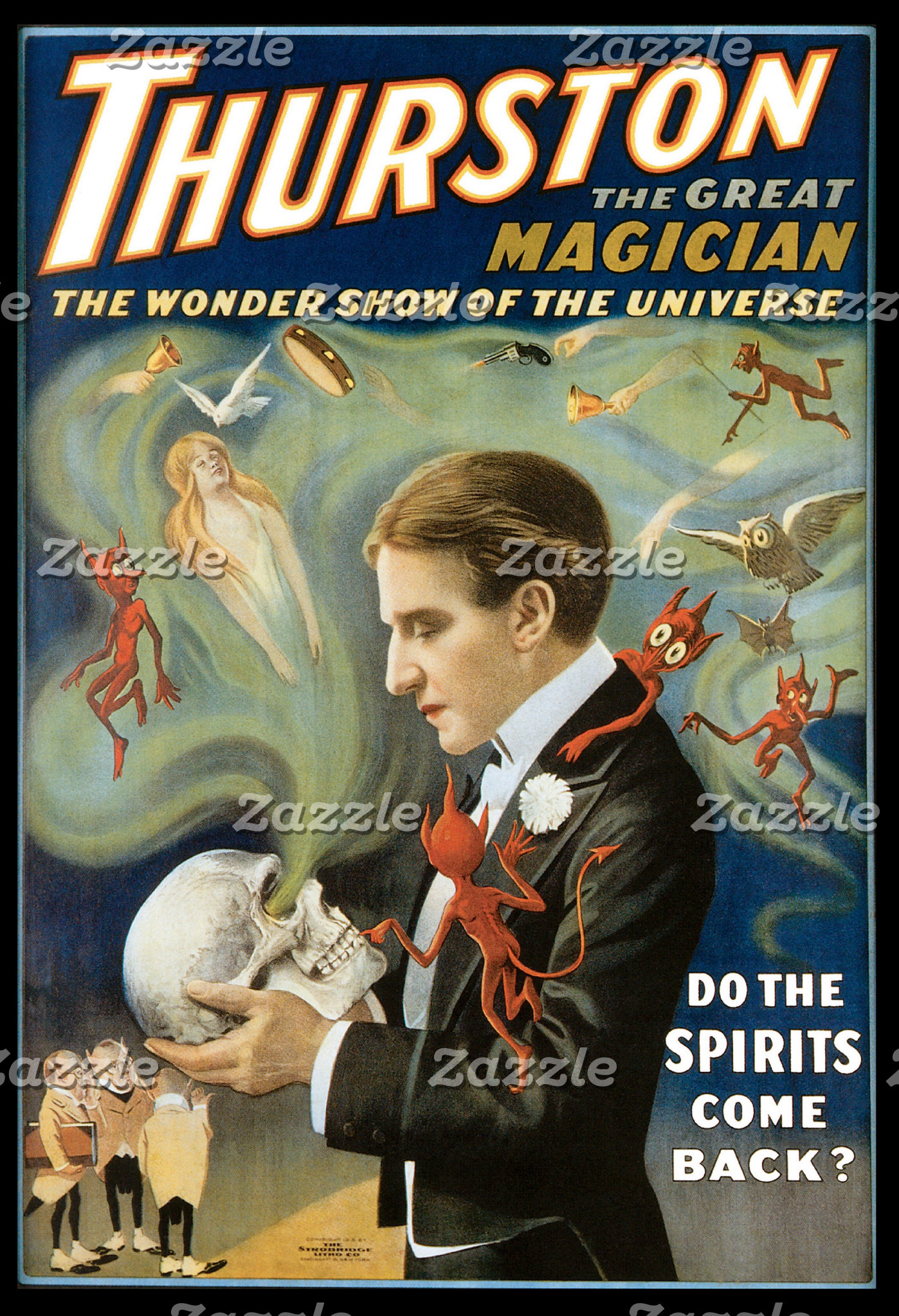 Vintage Magic Poster Gifts