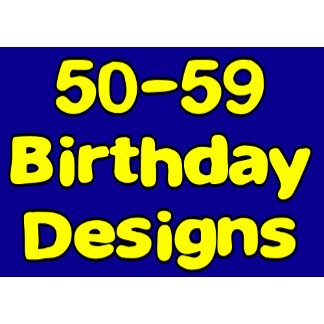 50-59 Birthday