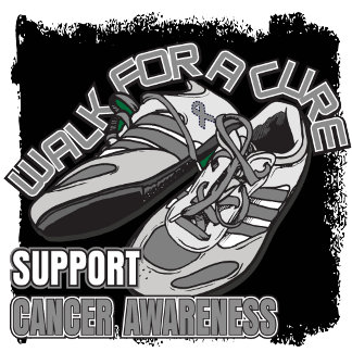 Brain Cancer Walk For A Cure Shoes