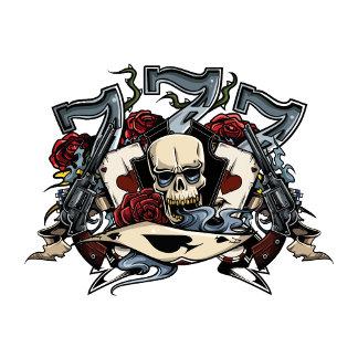 Sevens Skull Guns Roses Ace Of Spades Gambling