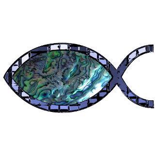 Radiant Christian Fish Symbol