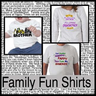 Family Fun Shirts