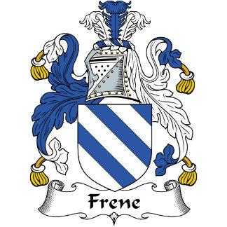 Frene Family Crest / Coat of Arms