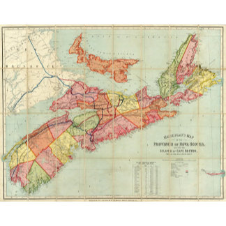 Mackinlay's map of the Province of Nova Scotia 4