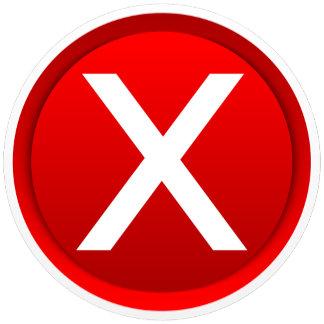Red X - No - Symbol