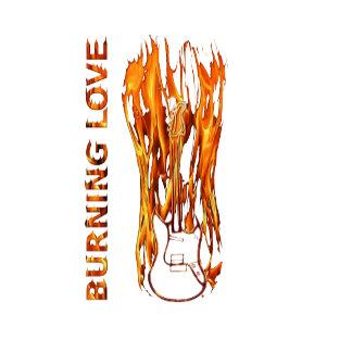 Burning Love Guitar