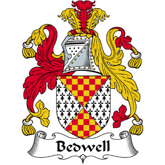 Bedwell Family Crest / Coat of Arms