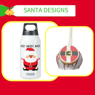 Santa Claus Designs - Apparel and Gifts