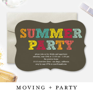 MOVING + PARTY