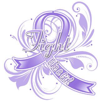 Hodgkins Lymphoma Fight Like a Girl Flourish