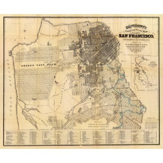 Bancroft's official Guide Map of San Francisco