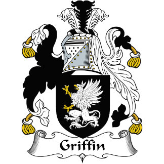 Griffin Family Crest / Coat of Arms
