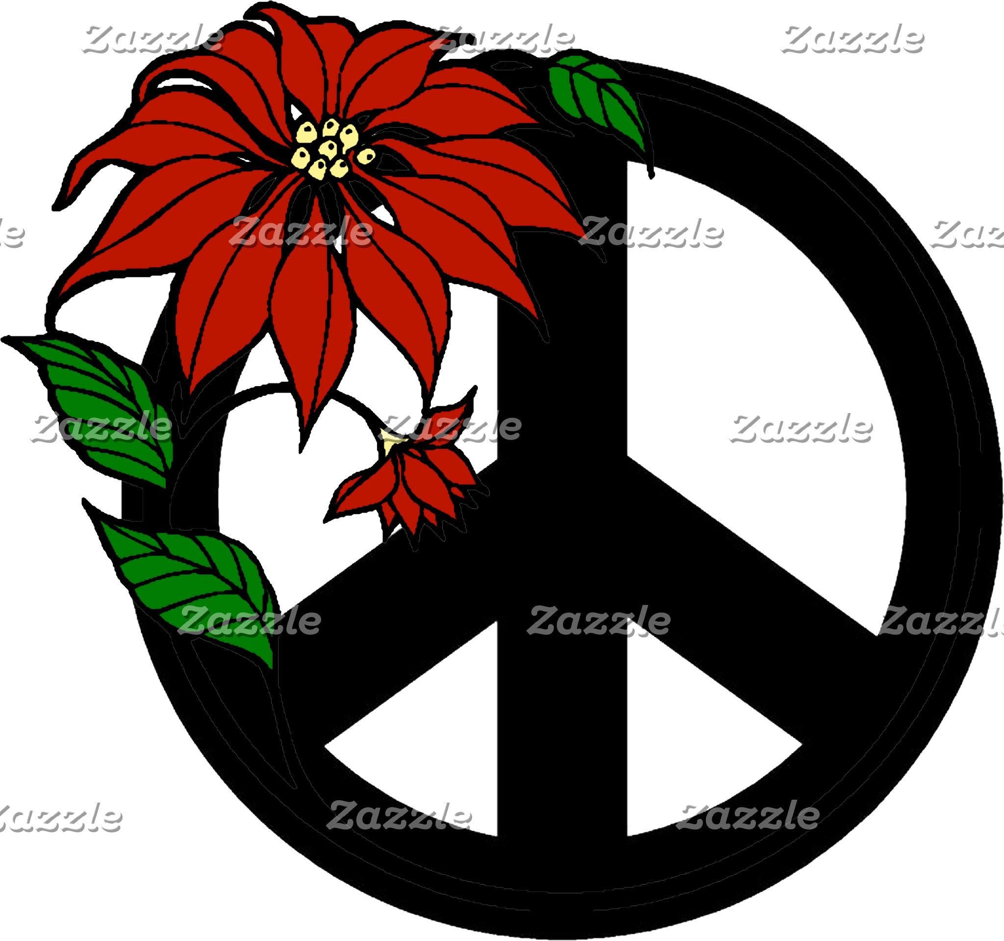 Holiday Peace T-Shirt Sweatshirt Cards