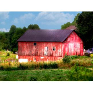 Big Bold Red Barn