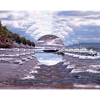Lake Superior Island Waves