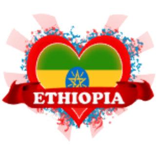 Vintage I Love Ethiopia