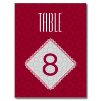 NEW TABLE CARD STOCK
