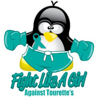 Tourette's Syndrome Fighting Penguin