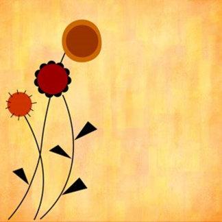 3 Autumn Flowers