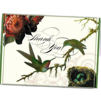 Hummingbird Vintage - Green