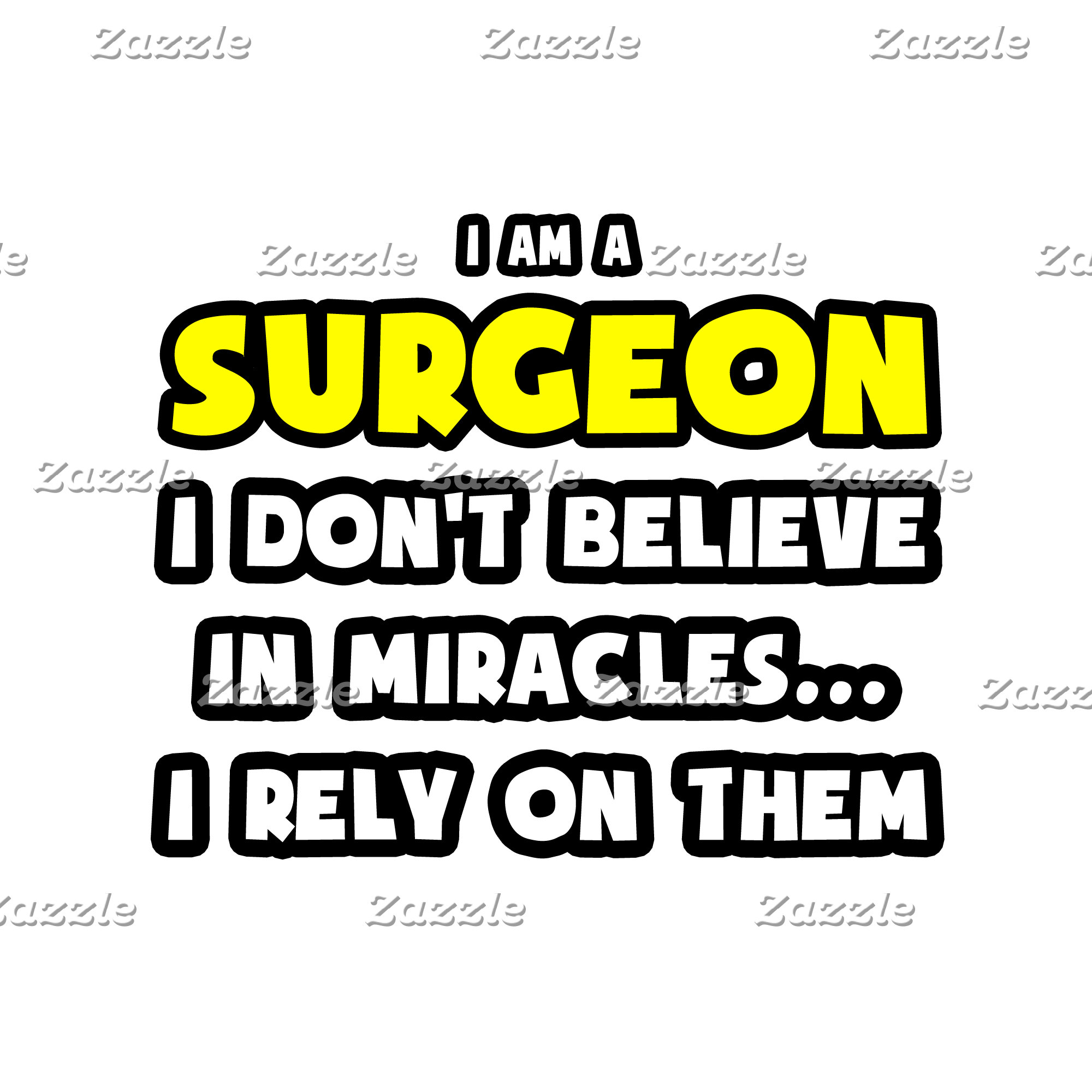 Miracles and Surgeons ... Funny