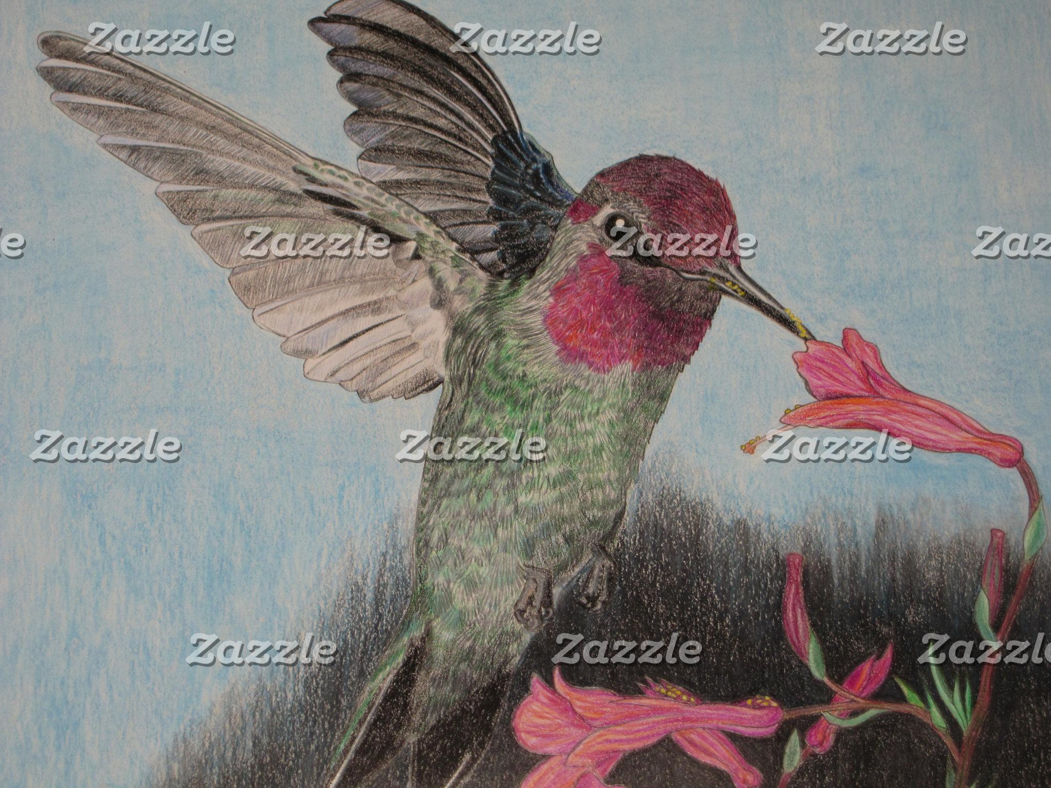 Annette's Hummingbird by Carol Spiller