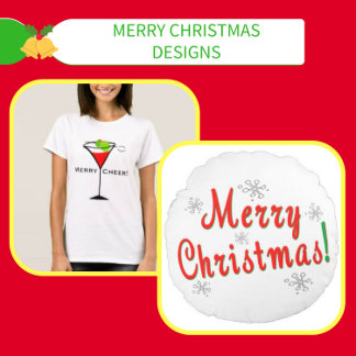 Merry Christmas T-shirts, Gifts, Decor, Gift Wrap