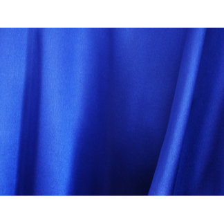 Flowing Blue Silk Fabric Abstract