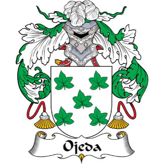 Ojeda Family Crest
