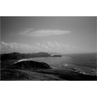 Black and White Land and Seascapes