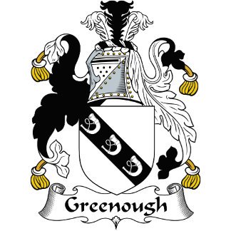 Greenough Family Crest / Coat of Arms