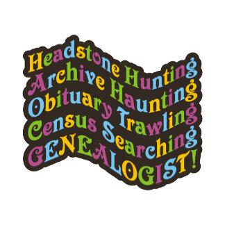 Headstone Hunting Genealogist