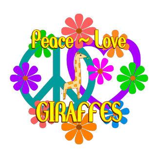 Peace Love Giraffes