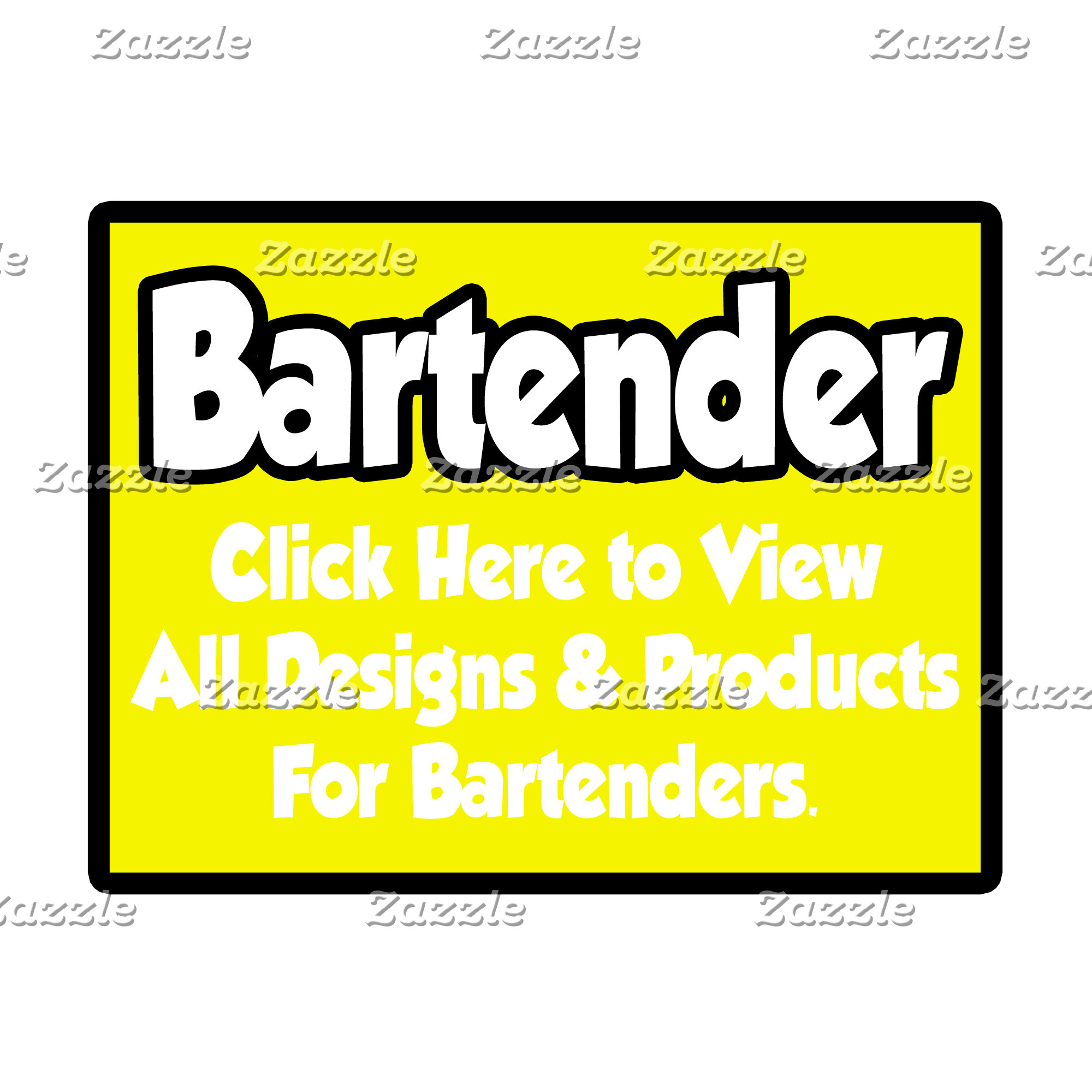 Bartender Shirts, Gifts and Apparel