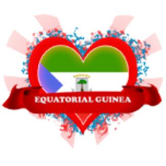 Vintage I Love Equatorial Guinea