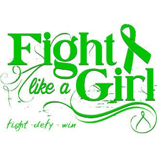 Cerebral Palsy Fight Like A Girl Elegant