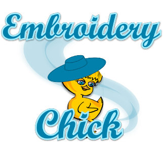 Embroidery Chick #3